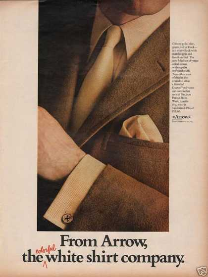 Arrow Co Shirts for Men (1968)
