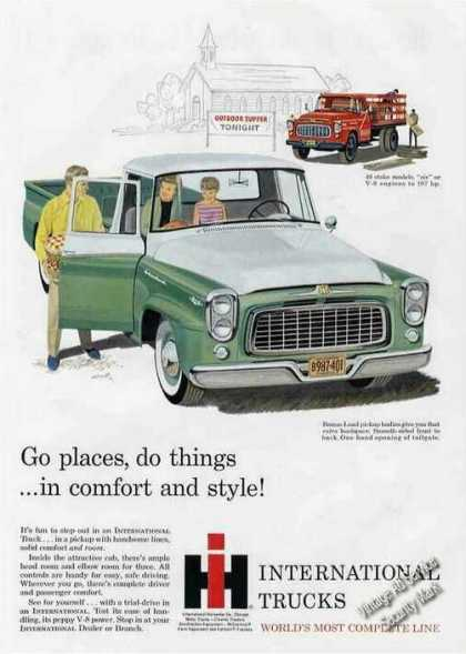 International Trucks Stake & Pickup (1960)