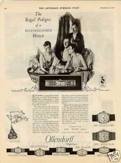 Ollendorf Watches (1927)