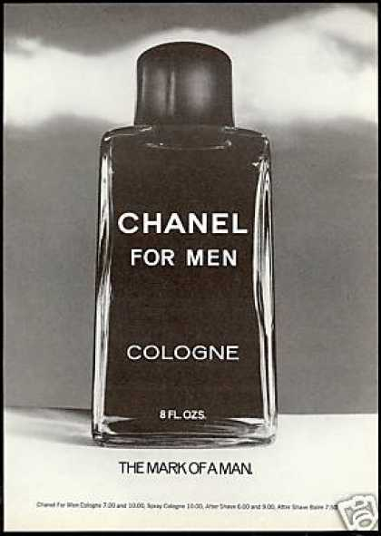 Chanel For Men Cologne Bottle Photo (1975)