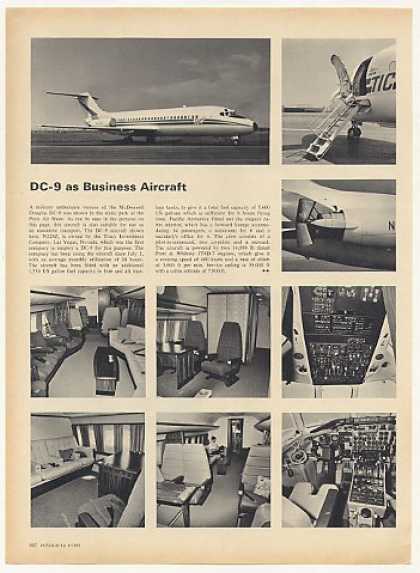 Douglas DC-9 Business Aircraft Photo Article (1969)