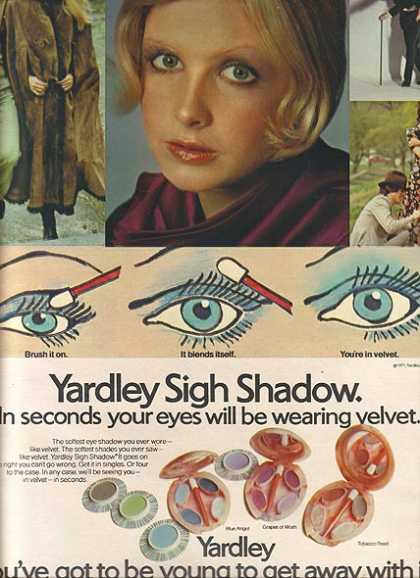 Yardley's Sigh Shadow (1971)