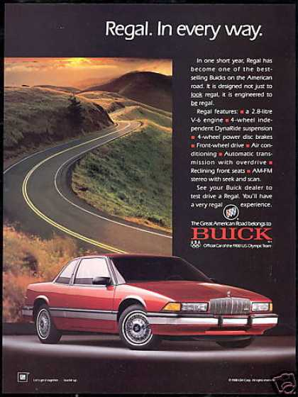 Buick Regal In Every Way Car Photo (1989)