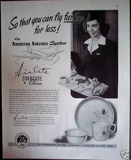 American Airlines Syracuse China (1946)