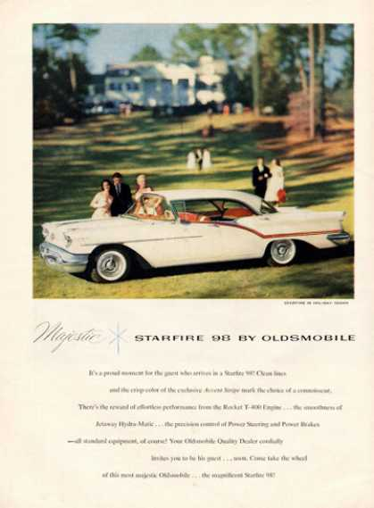 Oldsmobile Olds Starfire 98 Holiday Sedan (1957)