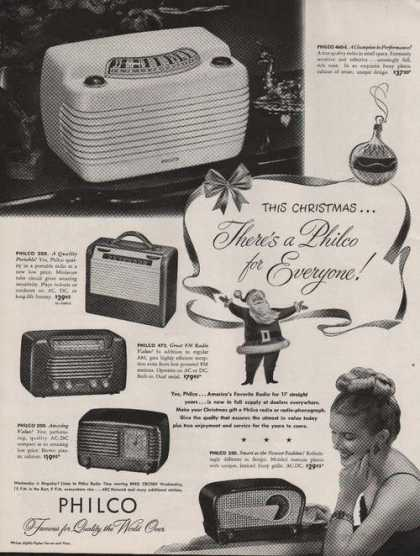 Christmas Theres a Philco Radio for Everyo (1947)