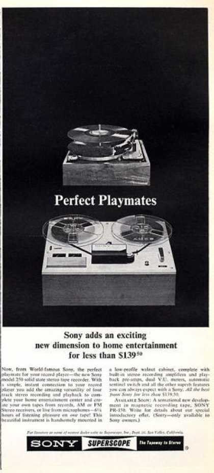 Sony Superscope Phono Reel To Reel (1965)
