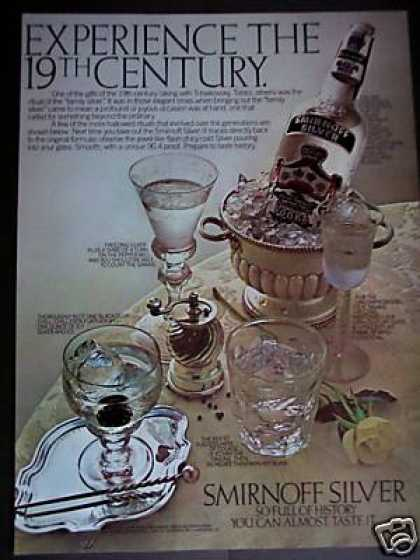 Smirnoff Silver Vodka On Ice Photo (1979)