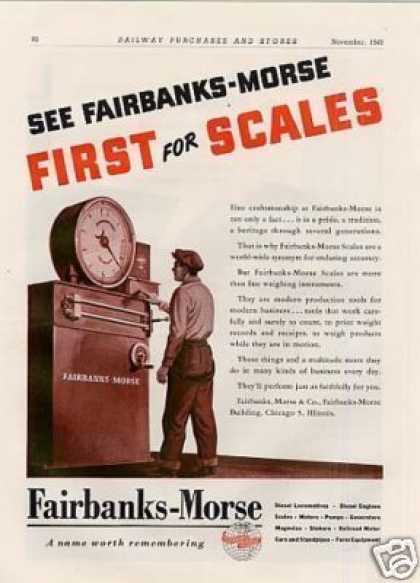 Fairbanks-morse Scales (1946)