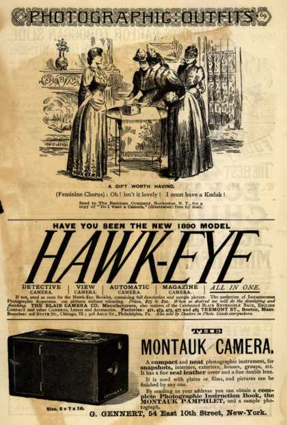 Kodak's Hawk-Eye camera – Hawk-Eye