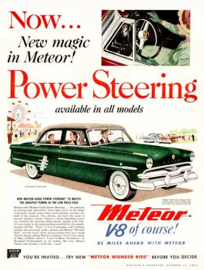 Mercury Meteor Customline (1953)