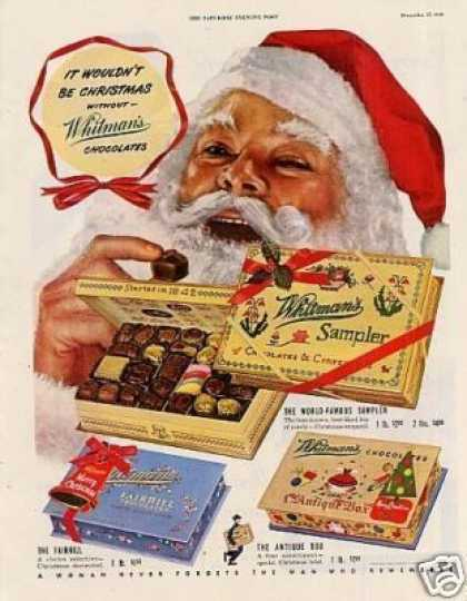 Whitman's Chocolate Candy (1949)