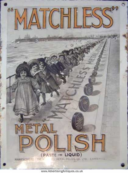 Mtachless Metal Polish Pier Scene