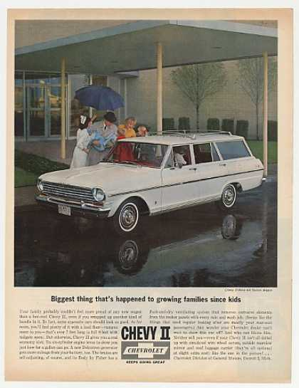 Chevy II Nova 400 Station Wagon Nurse Family (1963)