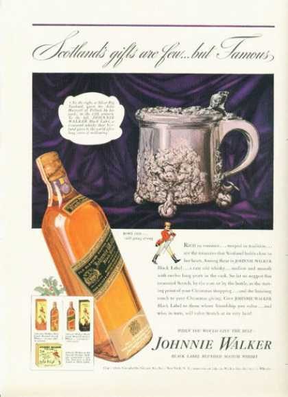 Johnnie Walker Black Label Scotch 1939 Mercury (1938)