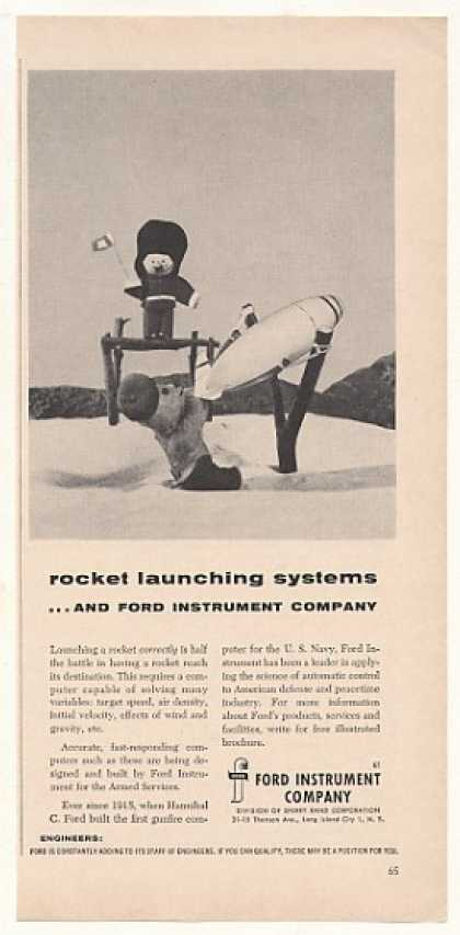 Ford Instrument Rocket Launching Systems (1955)