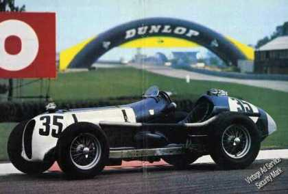 Nice Magazine Photo 1934 Mg K3 Magnette (1980)