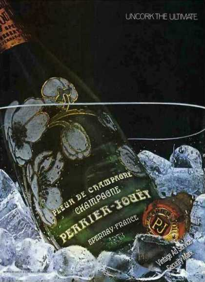 "Perrier-jouet Champagne ""Uncork the Ultimate"" (1982)"