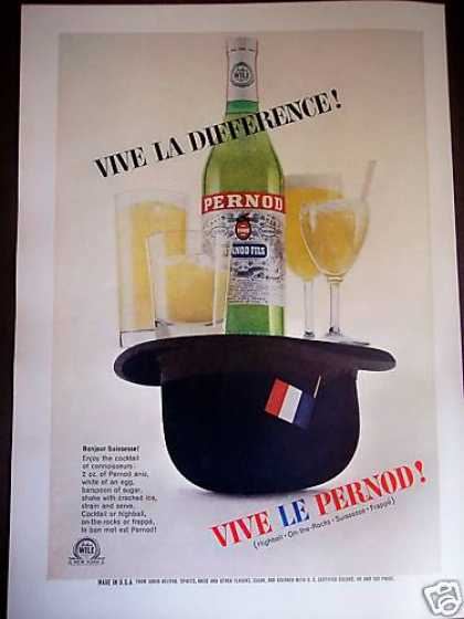 Top Hat & Bottle of Pernod Photo (1964)