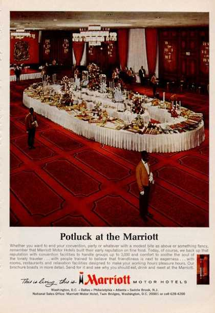 Marriott Hotel Potluck Dinner (1966)