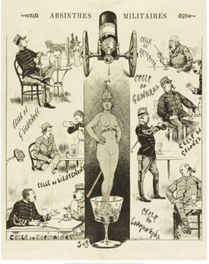 Absinthes Militaires (1893)