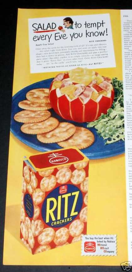 Nabisco Ritz Crackers Tempt (1950)