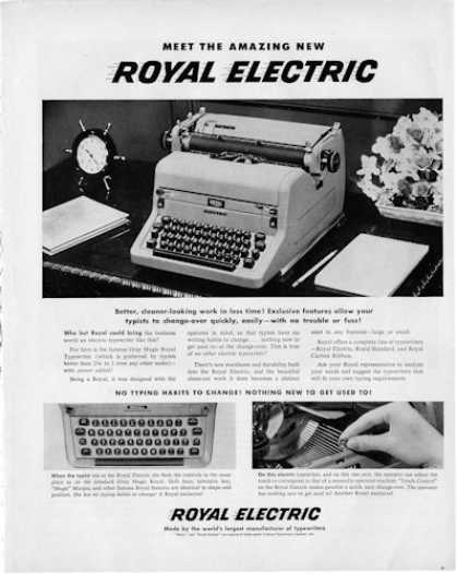 Royal Electric Typewritter (1950)