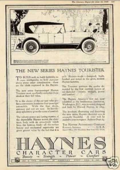 Haynes Tourister Car (1920)