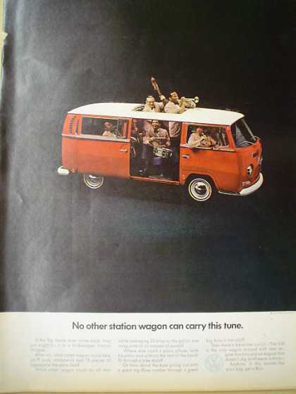 Volkswagen Bus No other station wagon carry this tune (1969)