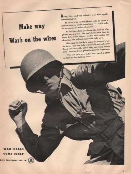 Wars On the Wires Bell Telephone System (1942)