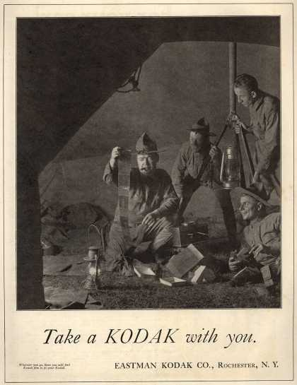 Kodak – Take a Kodak with you (1917)