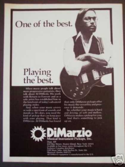 Al Dimeola Photo Dimarzio Guitar Pickup (1977)