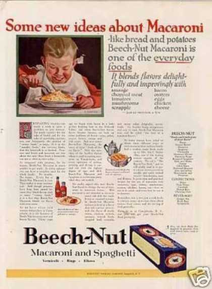 Beech-nut Macaroni Color (1923)
