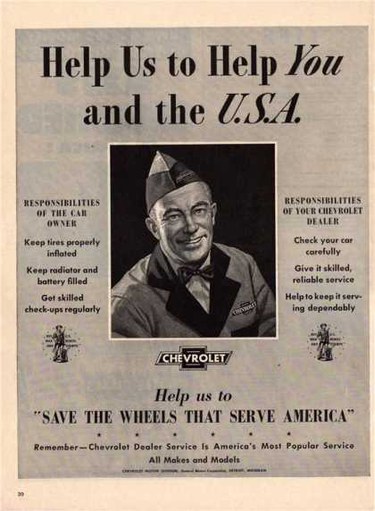 Chevrolet Serviceman Mechanic Wwii (1943)