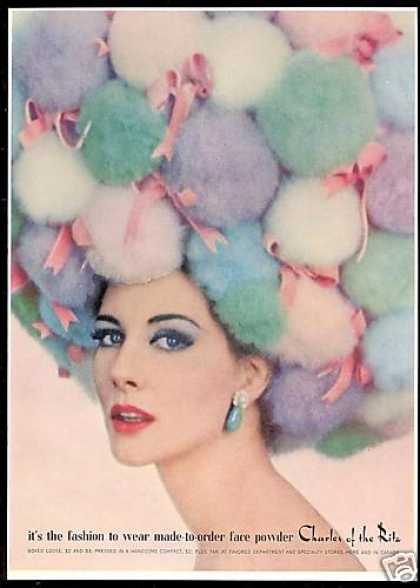Pom Pom Hat Charles of the Ritz Makeup (1962)