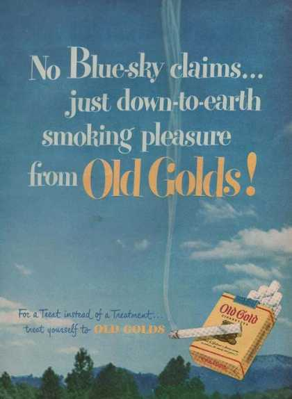 Old Gold Cigaretteb (1949)