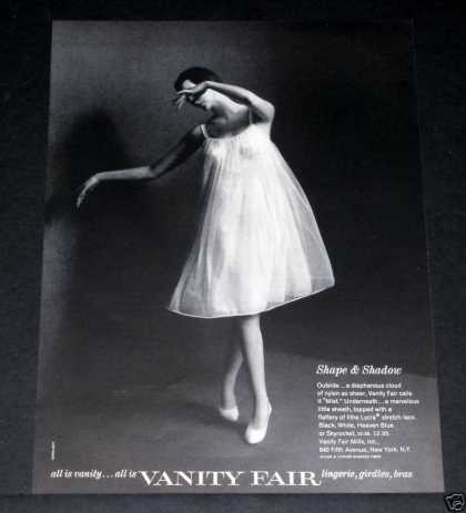 Old , Vanity Fair, Ballerina Girl (1964)