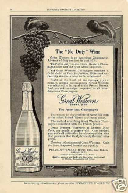 Great Western Champagne (1909)