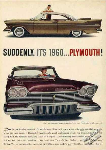 "Plymouth ""Suddenly, It's 1960"" Nice Car (1957)"