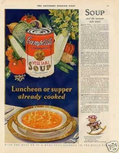 Campbell's Vegetable Soup (1928)