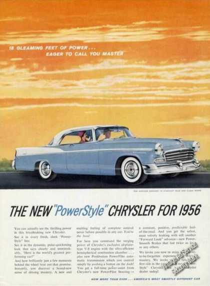 Chrysler Windsor Newport Car (1956)
