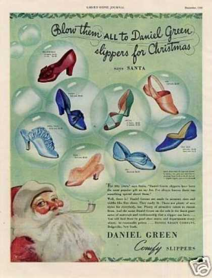 Daniel Green Comfy Slippers (1939)