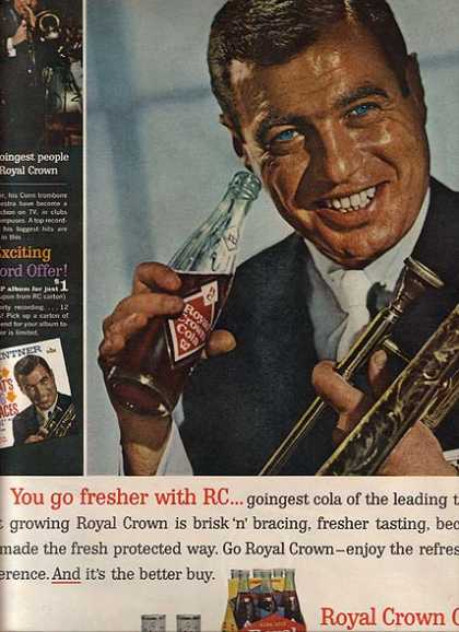 Royal Crown Cola's Si Zentner (1963)