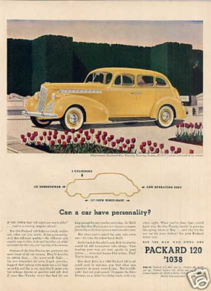 Packard One-twenty Touring Sedan Color (1940)