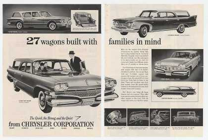Chrysler Dodge Plymouth Valiant Wagons (1960)