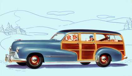 "Oldsmobile Series ""60"" Station Wagon (1948)"