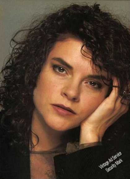 Nice Rosanne Cash Photo Magazine Print Feature (1988)