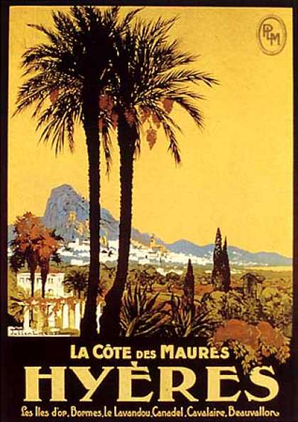 Hyeres by Julien Lacaze (1920)