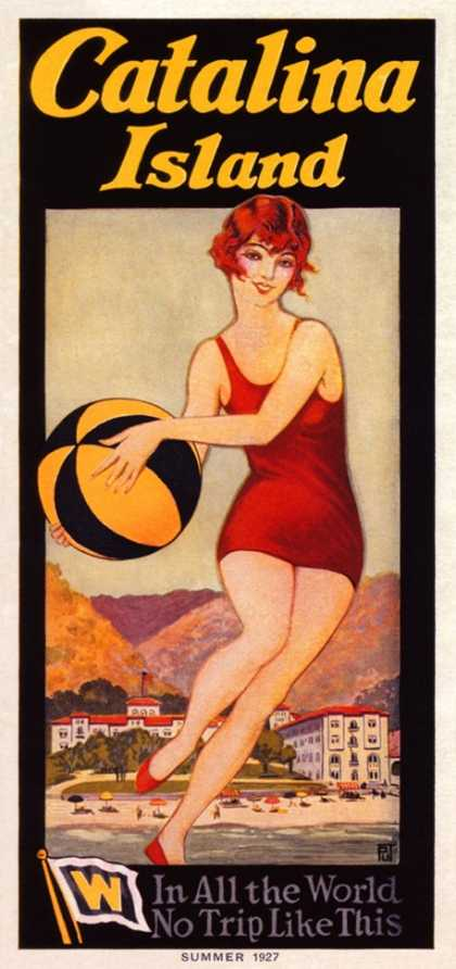 Catalina, Beach Ball (1927)