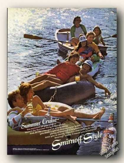 Smirnoff Vodka Summer Cruise Spoof Fun (1979)